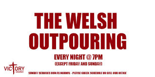The Welsh Outpouring